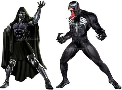 El nuevo Dr. Doom y Venom
